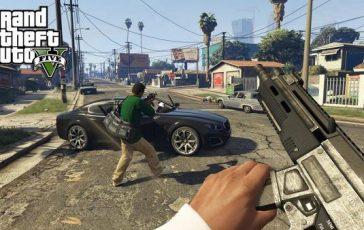 Jugar Grand Theft Auto V con la Realidad Virtual con Oculus Rift
