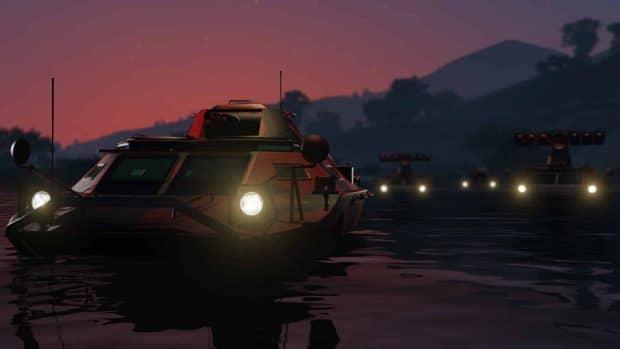 Primeros detalles y pantallas del nuevos DLC en GTA Online: Tráfico de Armas 6