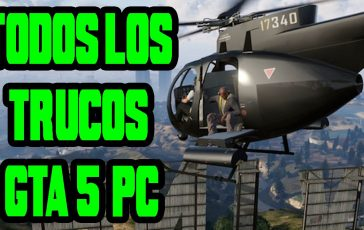 Trucos de Grand Theft Auto V para PC