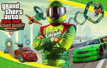 Nueva actualización para GTA Online: San Andreas Super Sport Series