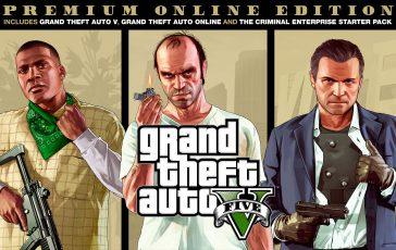 Grand Theft Auto V Premium Edición Online