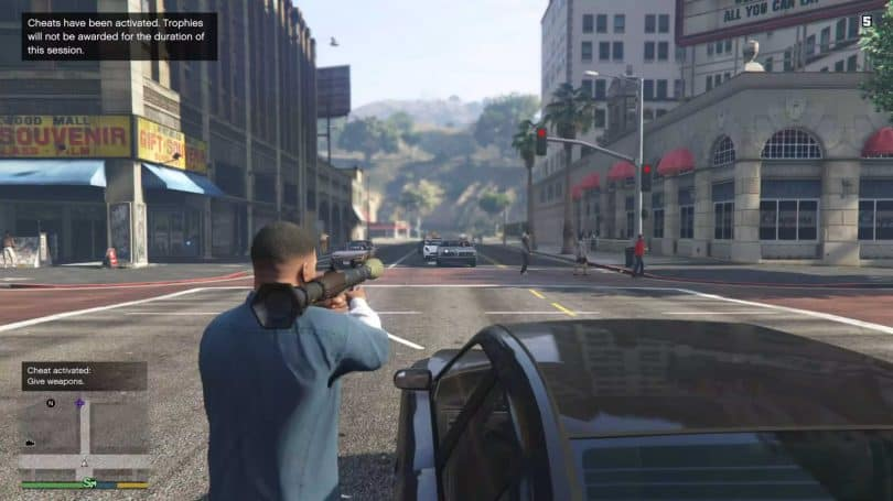 Trucos de Grand Theft Auto V para PC 1