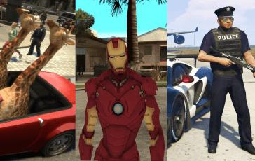 Los Mods de Grand Theft Auto más populares e influyentes