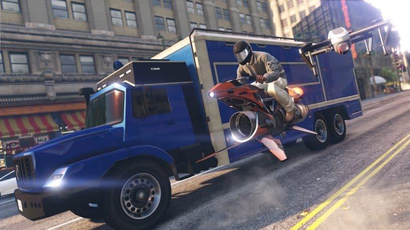 GTA en línea: El nuevo Opressor MK II y el nuevo Terrorbyte ya están disponibles 1